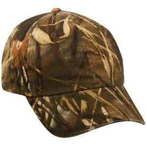 Garment Washed Camo Assorted Cap