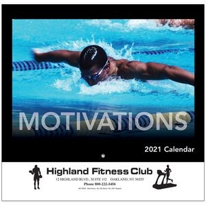 Motivations Wall Calendar - Stapled - 2021